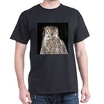 Great Horned Owl Dark T-Shirt