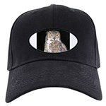 Great Horned Owl Black Cap