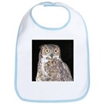 Great Horned Owl Bib