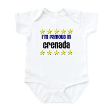 I'm Famous in Grenada Infant Bodysuit