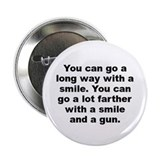 "Capone quote 2.25"" Button (10 pack)"
