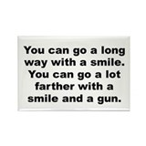 Al capone quote Rectangle Magnet (100 pack)