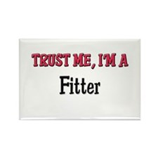 Trust Me I'm a Fitter Rectangle Magnet (10 pack)