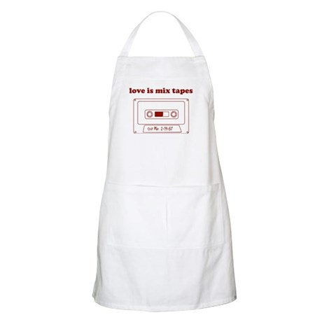 Love Is Mix Tapes BBQ Apron