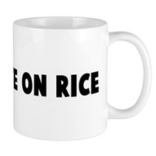 Like white on rice Mug