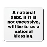 Funny Alexander hamilton quotation Mousepad