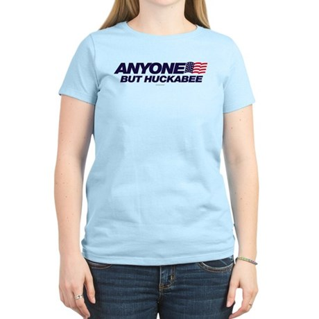 Anyone But Huckabee Womens Light T-Shirt
