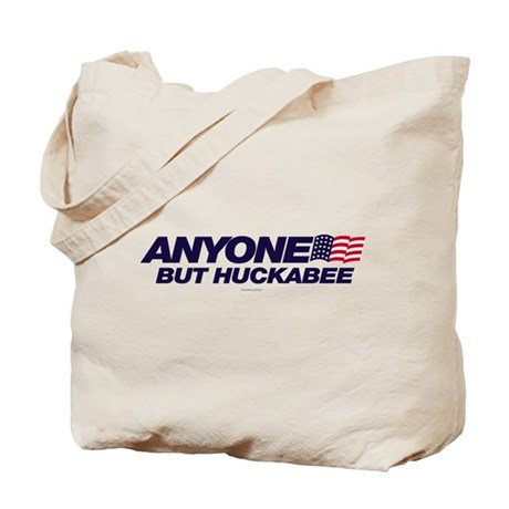 Anyone But Huckabee Tote Bag