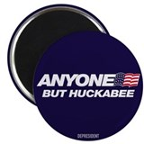"Anyone But Huckabee 2.25"" Magnet (10 pack)"