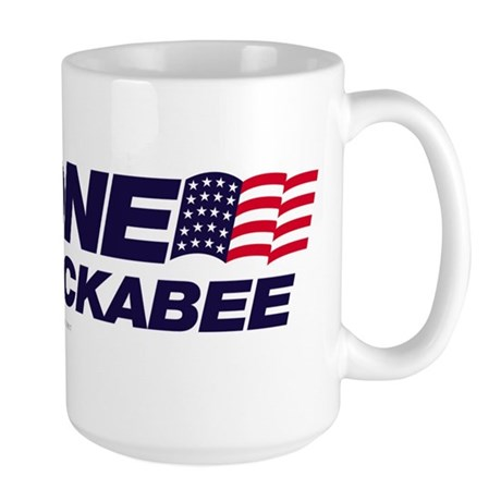 Anyone But Huckabee Large Mug