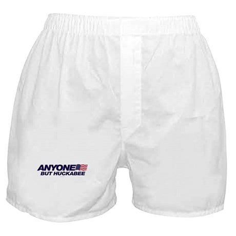 Anyone But Huckabee Boxer Shorts