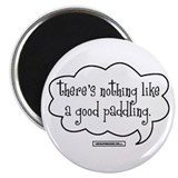 "Cute Paddling 2.25"" Magnet (100 pack)"