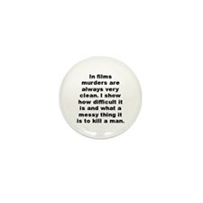 Alfred hitchcock Mini Button (100 pack)