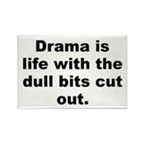 Cute Hitchcock quotation Rectangle Magnet (10 pack)