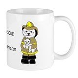 Nat'l Westie Rescue Gold Logo Coffee Mug