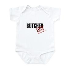 Off Duty Butcher Infant Bodysuit