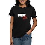 Off Duty Butler Women's Dark T-Shirt