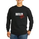 Off Duty Butler Long Sleeve Dark T-Shirt
