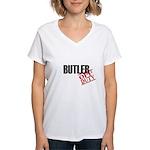 Off Duty Butler Women's V-Neck T-Shirt