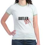 Off Duty Butler Jr. Ringer T-Shirt