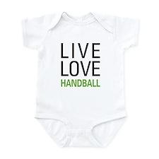 Live Love Handball Infant Bodysuit