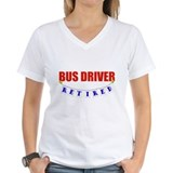 Retired Bus Driver Shirt