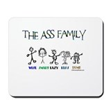 THE ASS FAMILY Mousepad