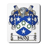 Brody Coat of Arms Mousepad