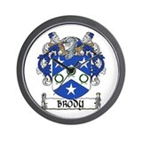 Brody Coat of Arms Wall Clock