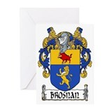 Brosnan Coat of Arms Greeting Cards (Pk of 10)