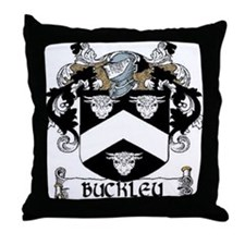 Buckley Coat of Arms Throw Pillow