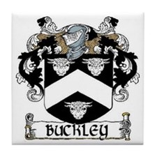 Buckley Coat of Arms Tile Coaster