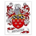 Boylston Coat of Arms Small Poster