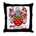 Boylston Coat of Arms Throw Pillow