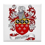 Boylston Coat of Arms Tile Coaster
