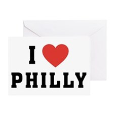 I Love Philly Greeting Card