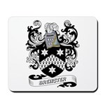 Brewster Coat of Arms Mousepad