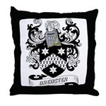 Brewster Coat of Arms Throw Pillow