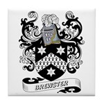 Brewster Coat of Arms Tile Coaster