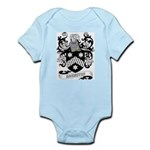 Brewster Coat of Arms Infant Creeper
