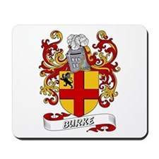 Burke Coat of Arms Mousepad