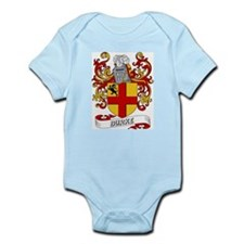 Burke Coat of Arms Infant Creeper