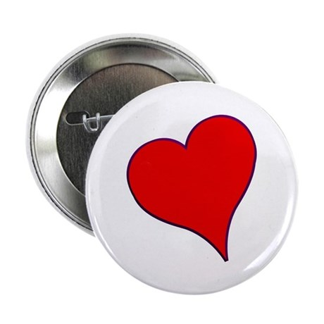 Big Red Heart Valentine 2.25&quot; Button (10 pack)
