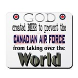 God Beer & the RCAF Mousepad