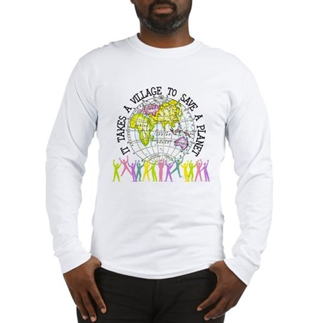 It Takes A Village Long Sleeve T-Shirt