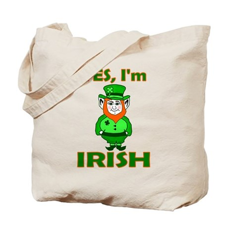 Yes I'm Irish Tote Bag
