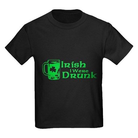 Irish I Were Drunk Kids T-Shirt