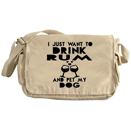 Irish I Were Drunk Messenger Bag