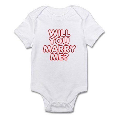 Will You Marry Me? Infant Bodysuit