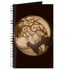 Lillian cameo antique sepia Journal